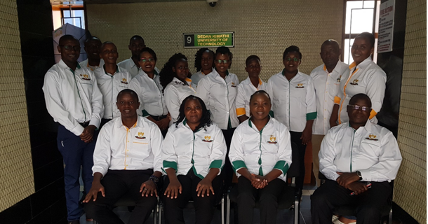 DeKUT Nairobi Campus Staff Members