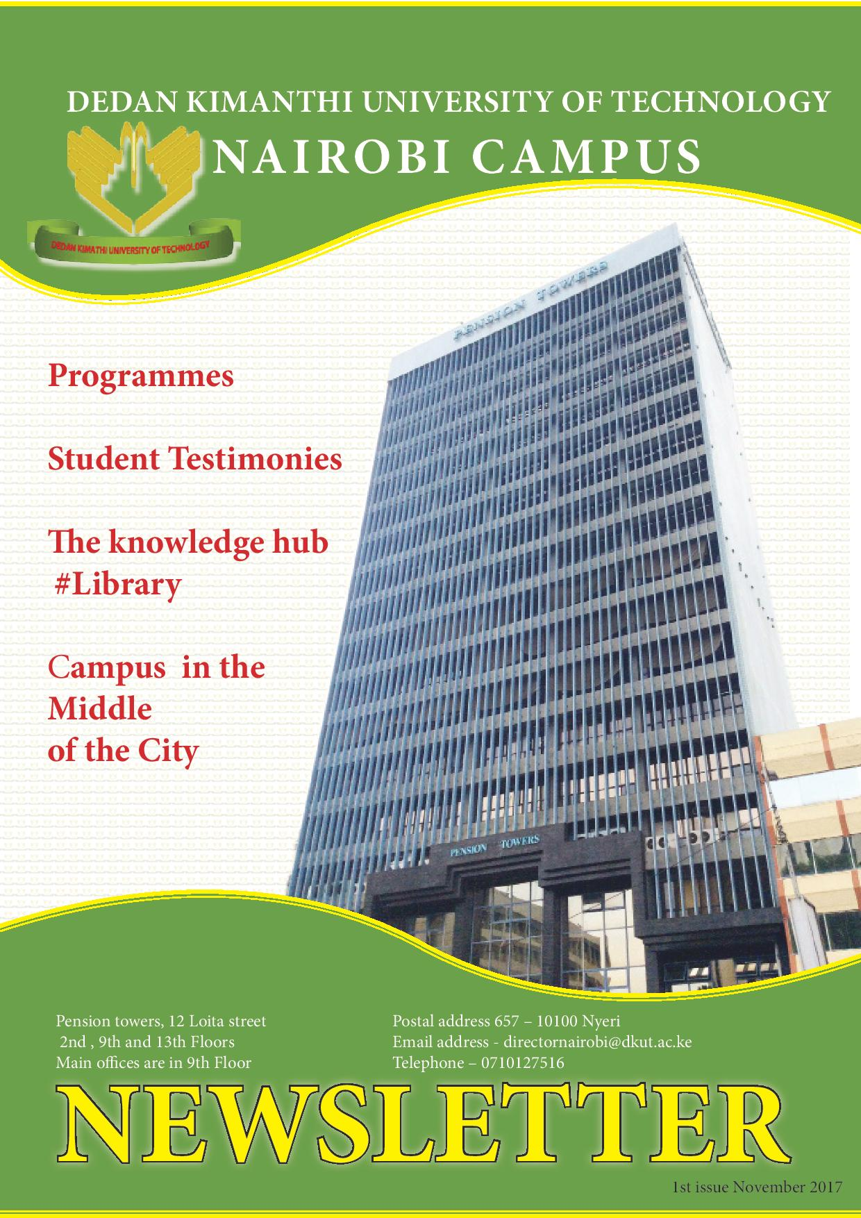 Nairobi Campus Newsletter